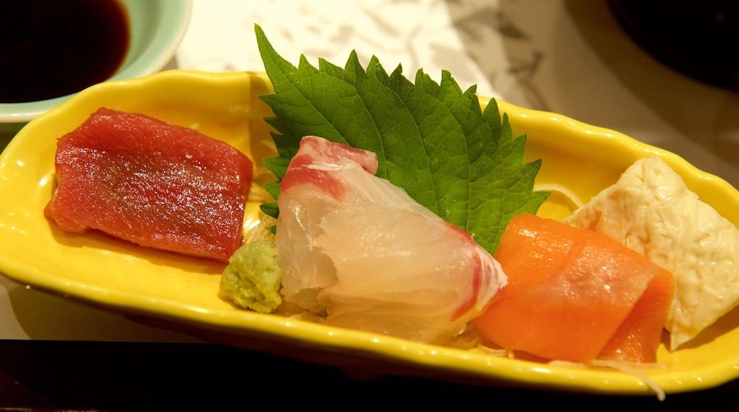 Osaka featuring food