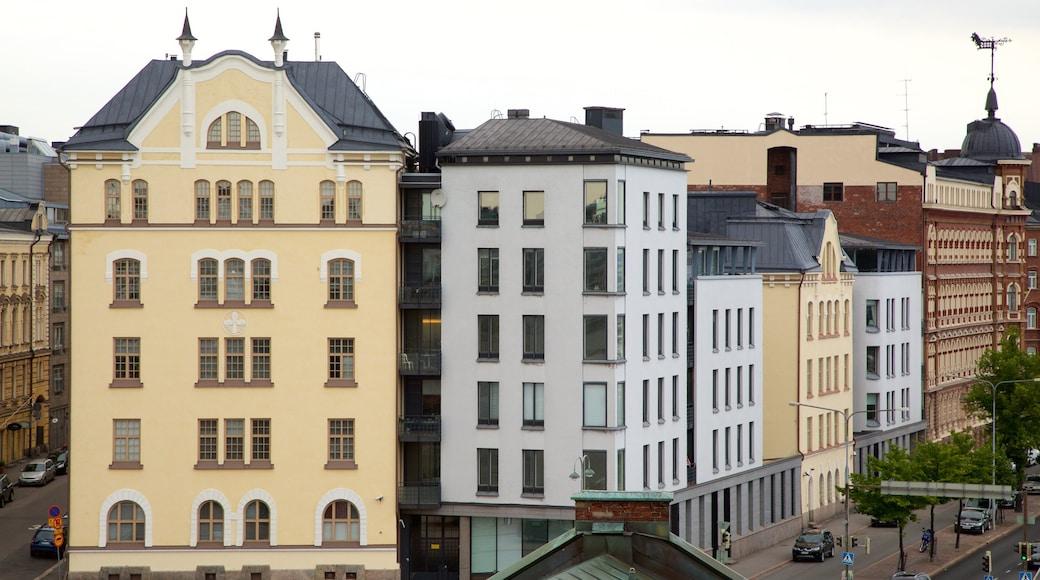 Katajanokka joka esittää kaupunki