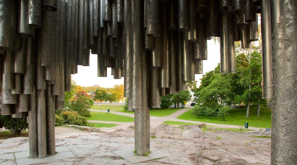 西貝柳斯紀念碑 其中包括 古蹟