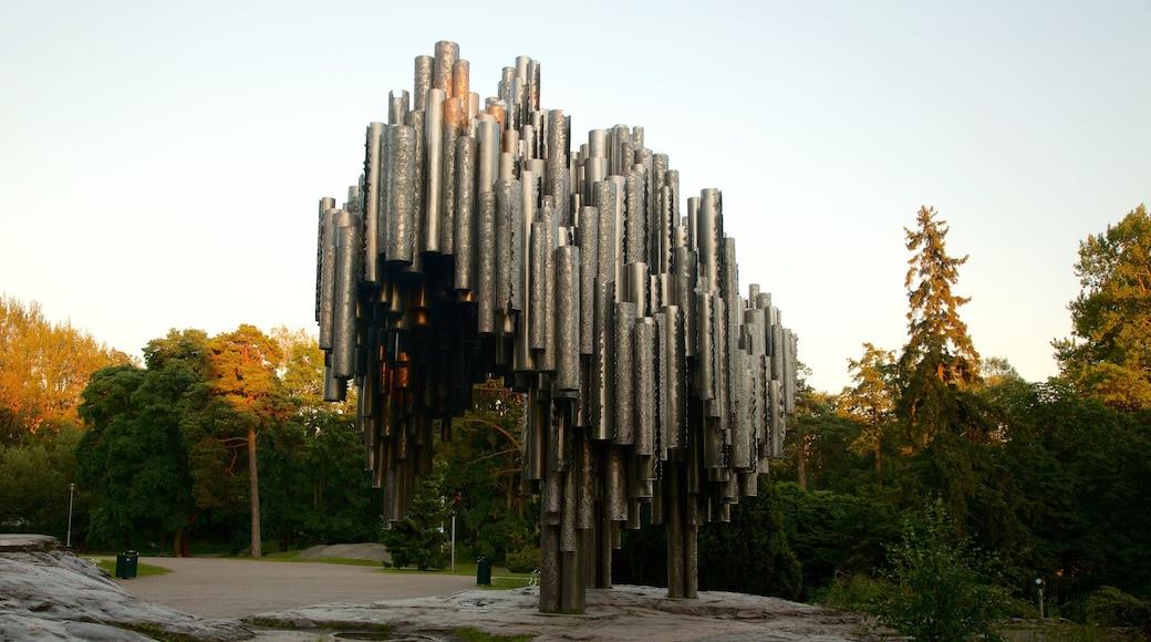 西貝柳斯紀念碑 设有 古蹟