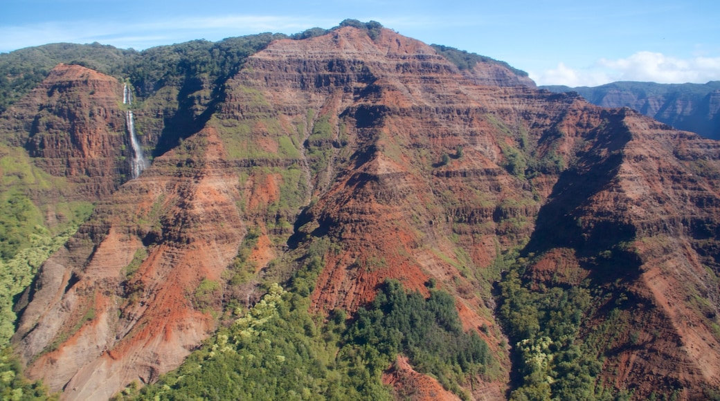 Waimea showing mountains