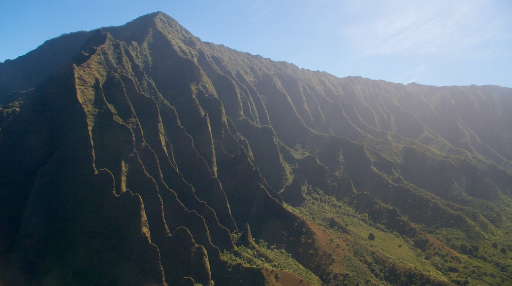NaPali Coast State Park which includes mountains