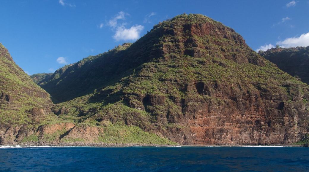 Kauai Island showing island images, mountains and general coastal views