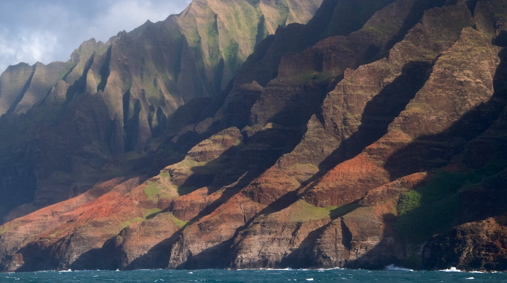 NaPali Coast State Park showing a gorge or canyon