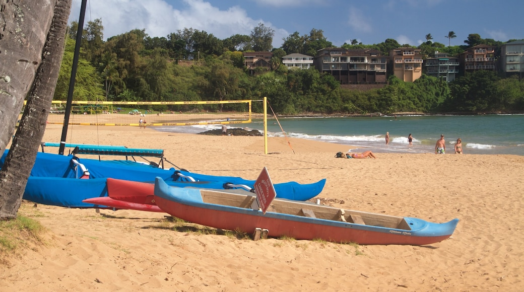 Kalapaki Beach featuring a sandy beach