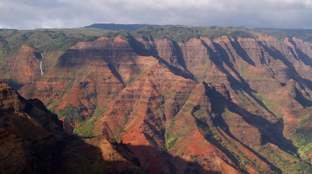 Waimea Canyon featuring a gorge or canyon