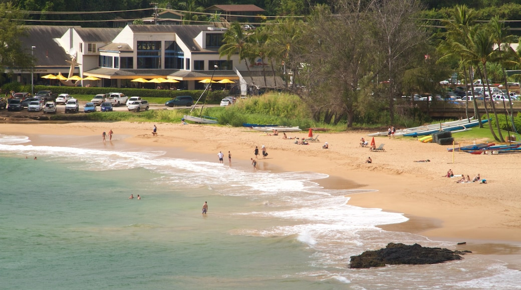 Kalapaki Beach showing a sandy beach