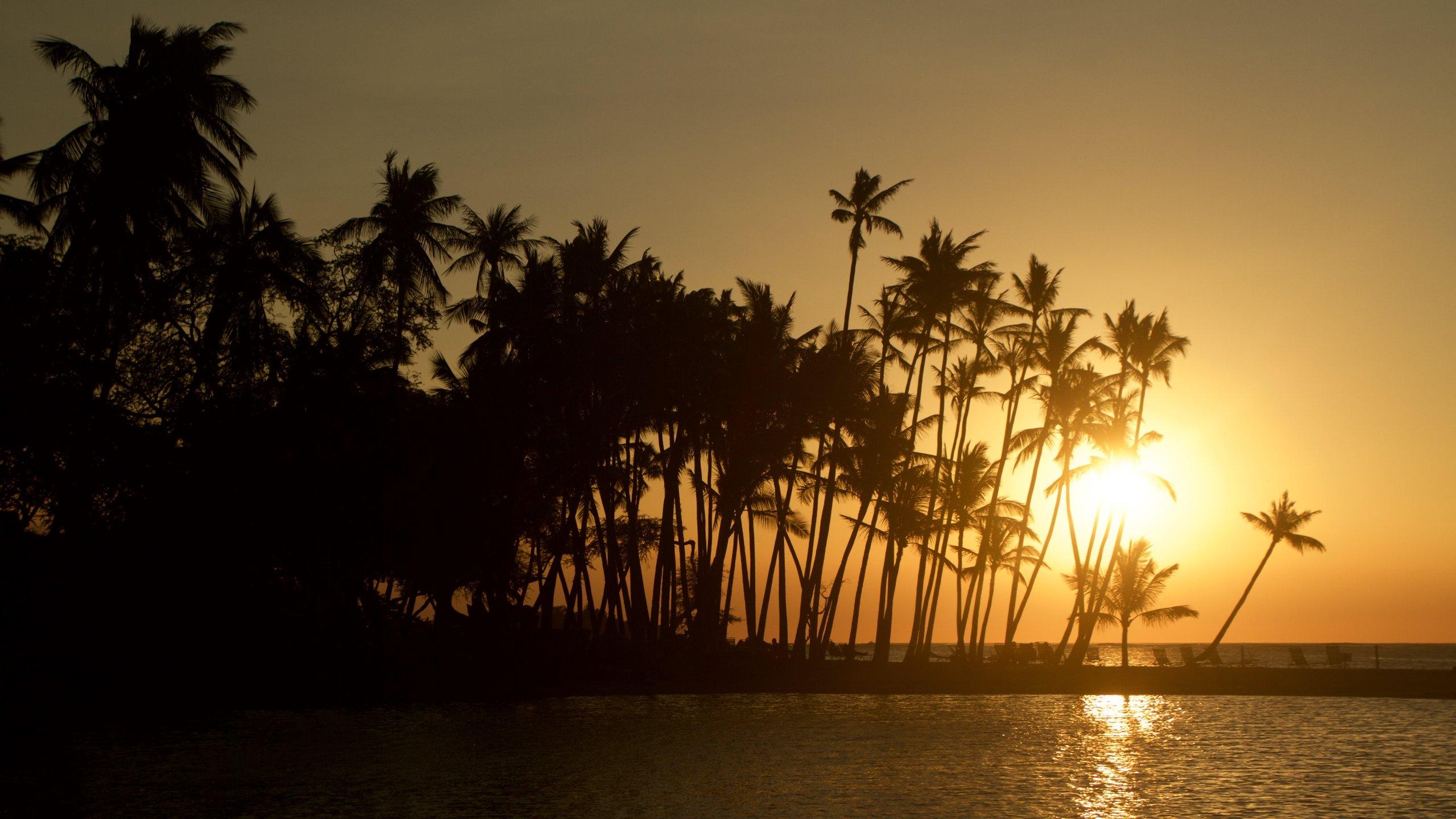 Anaeho'omalu Beach, Waikoloa, Hawaii, USA