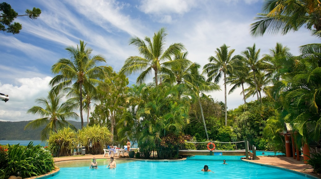 Daydream Island showing a luxury hotel or resort, swimming and a pool