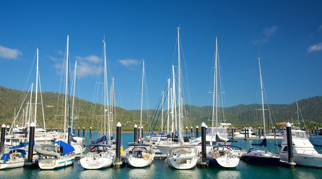 Airlie Beach featuring boating, sailing and a bay or harbour