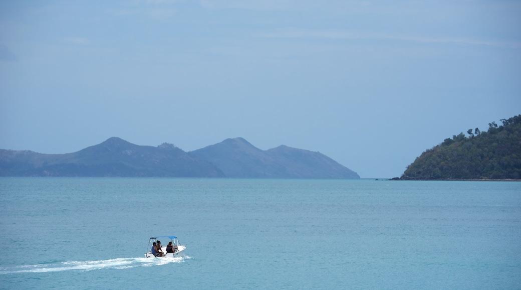 Hamilton Island Marina featuring general coastal views, landscape views and boating