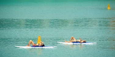 Airlie Beach which includes general coastal views and watersports as well as a couple
