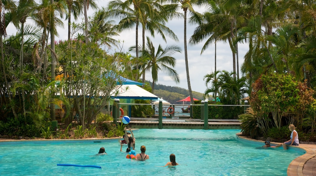 Daydream Island Rejuvenation Day Spa showing swimming, a pool and a luxury hotel or resort