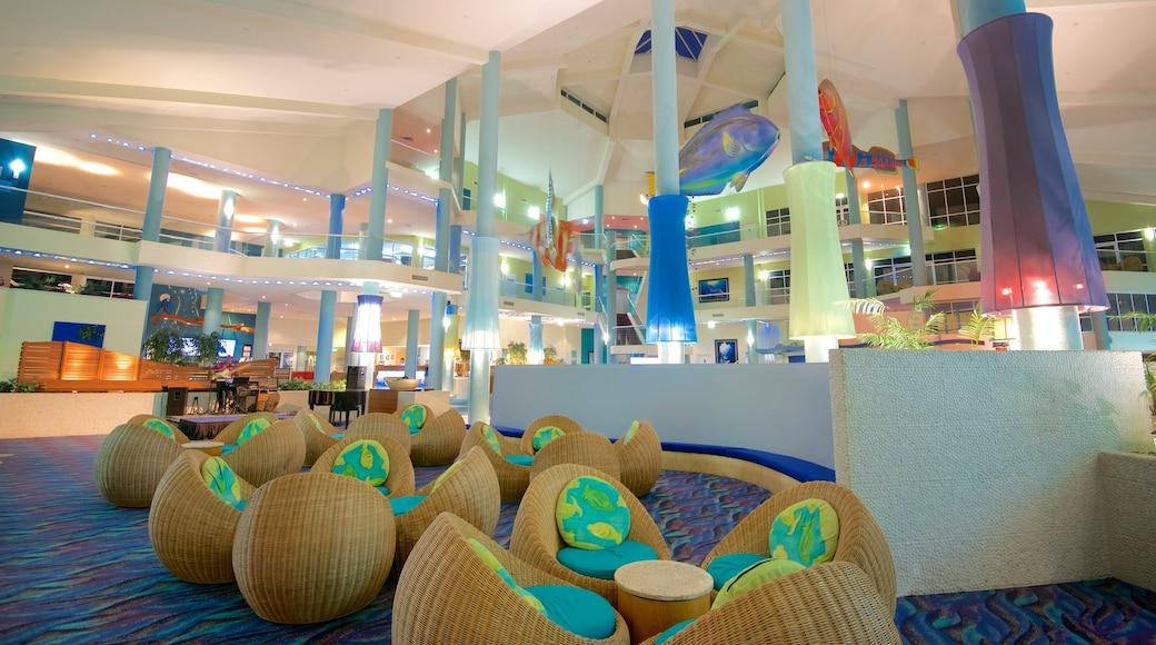 Daydream Island Rejuvenation Day Spa featuring interior views