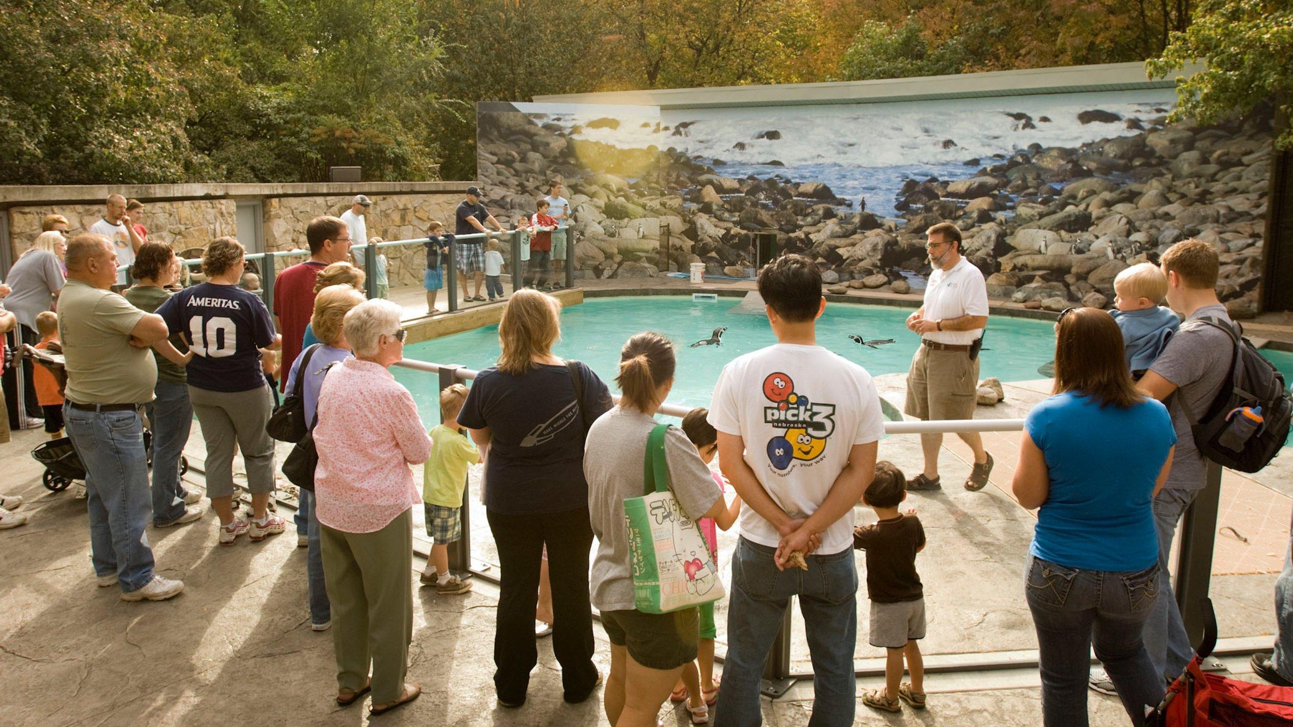 Lincoln Childrens Zoo, Lincoln, Nebraska, USA