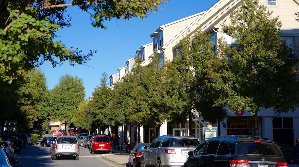 伯克戴爾村 呈现出 街道景色
