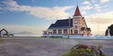 Ohinemutu, Rotorua, Bay of Plenty Region, New Zealand