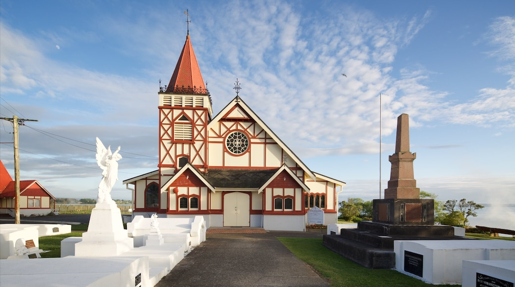 St. Faith\'s Anglican Church which includes a cemetery, a church or cathedral and heritage architecture