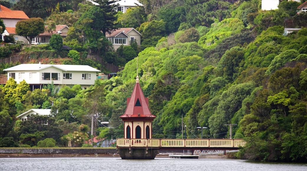 Wellington Region showing a river or creek