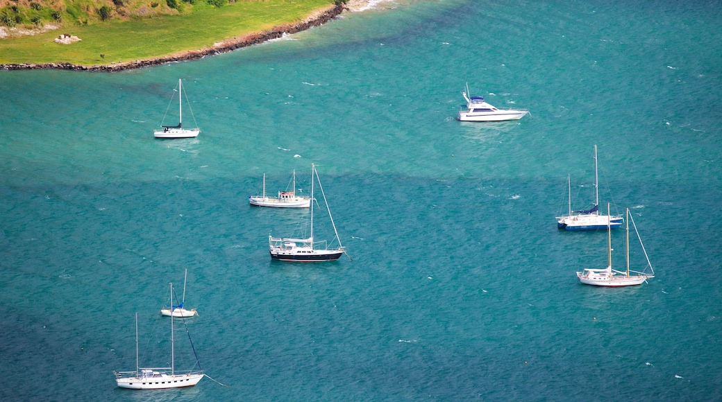 Mount Manaia which includes sailing and a bay or harbour