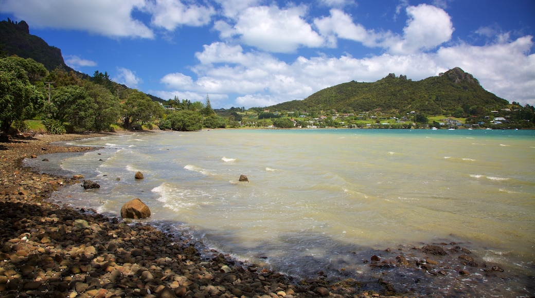 Whangarei featuring a bay or harbour and a pebble beach