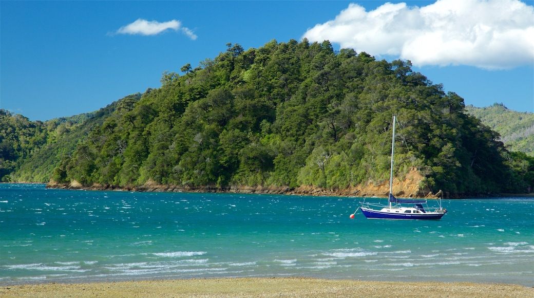 Picton which includes sailing, a pebble beach and rocky coastline