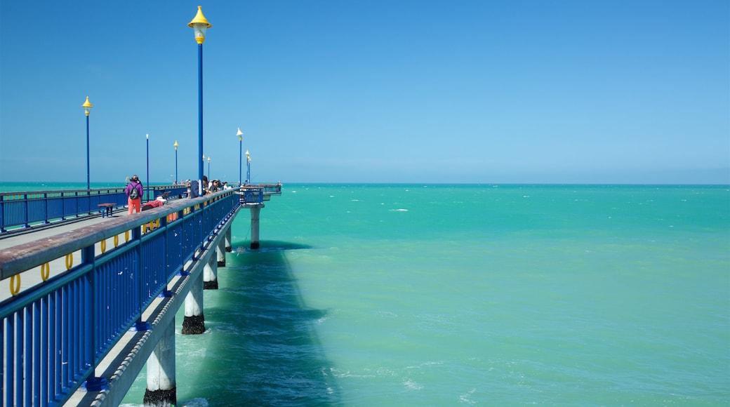 New Brighton Beach featuring general coastal views