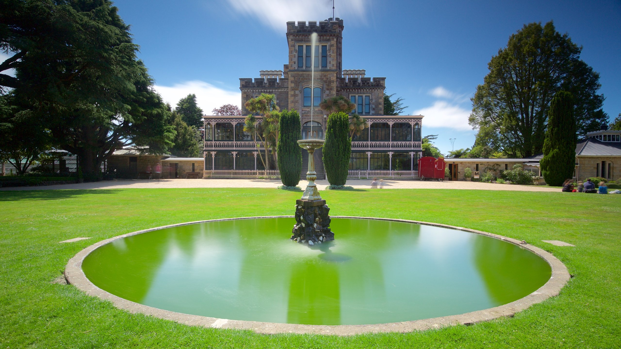 Discover tales of romance and tragedy, see rare Victorian furniture and take in stunning ocean vistas at New Zealand's only castle.