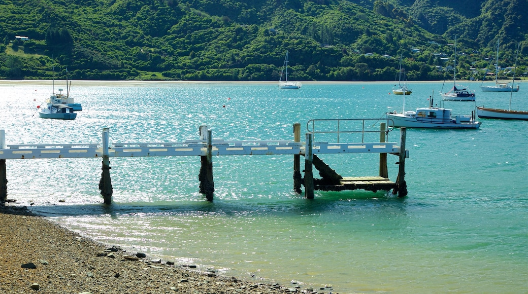 Picton featuring sailing, a pebble beach and boating