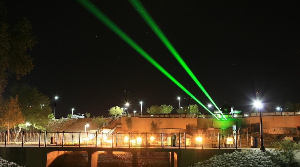 Yuma showing night scenes