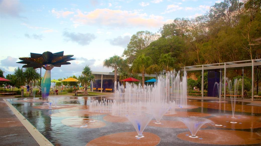 格拉德斯通 其中包括 噴泉