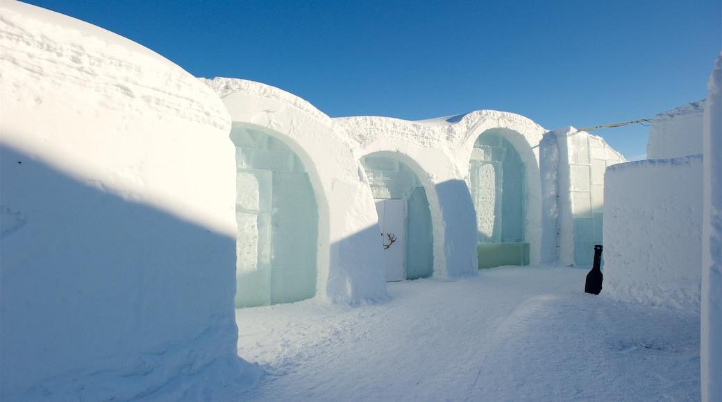 Kautokeino fasiliteter samt snø