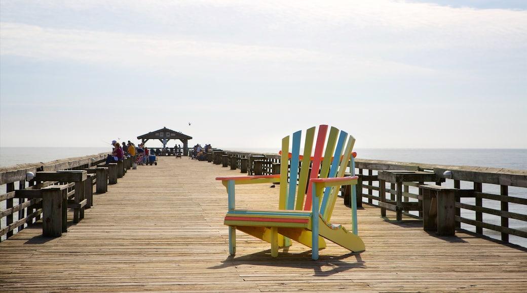 Myrtle Beach State Park das einen allgemeine Küstenansicht