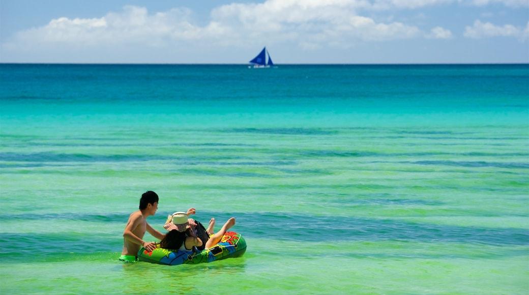 아클란 이 포함 수영, 일반 해안 전경 과 아열대 풍경