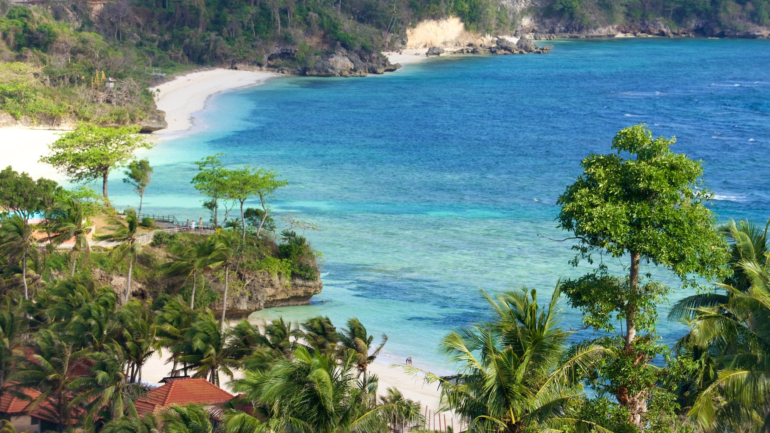 Ascend to the highest peak on Boracay Island for excellent views of the beaches and dense forests that decorate the undulating terrain.
