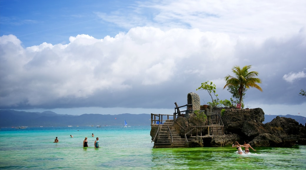 Visayan Islands which includes swimming, island views and general coastal views