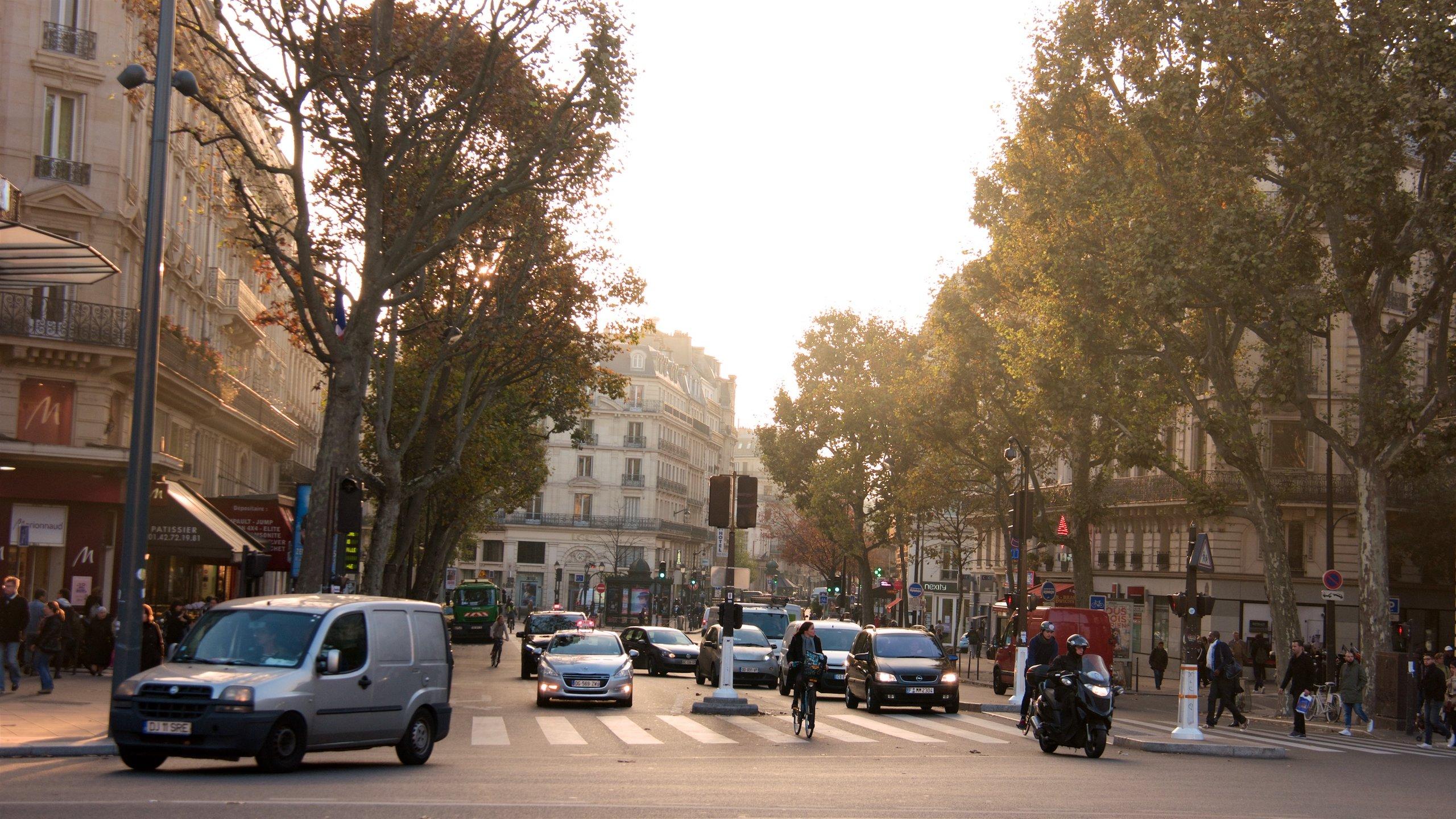 Quartier de la Folie-Méricourt, Paris, Frankreich
