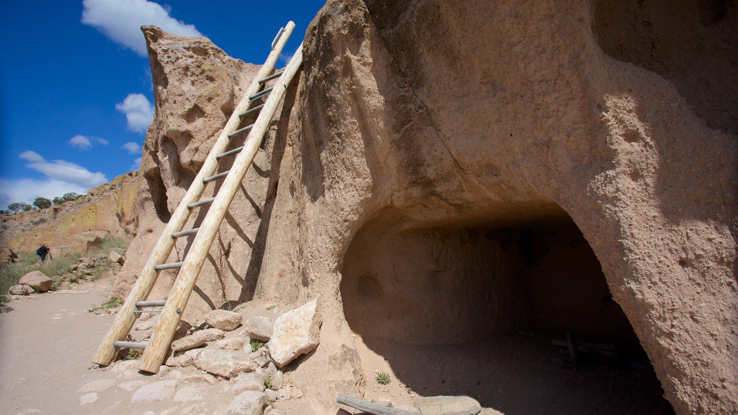 Puye Cliff Dwellings, Espanola, New Mexico, United States of America