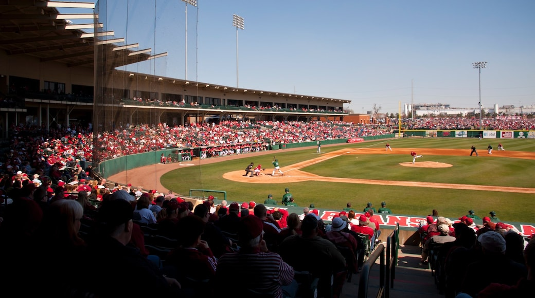 Baum Stadium which includes a sporting event