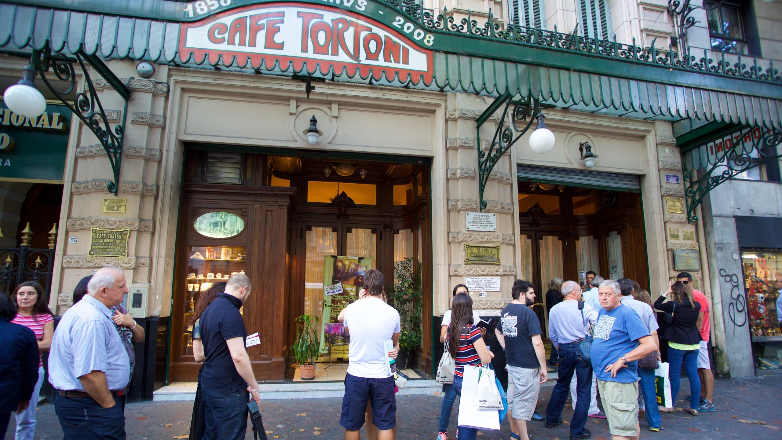 Cafe Tortoni, Buenos Aires, Argentinien