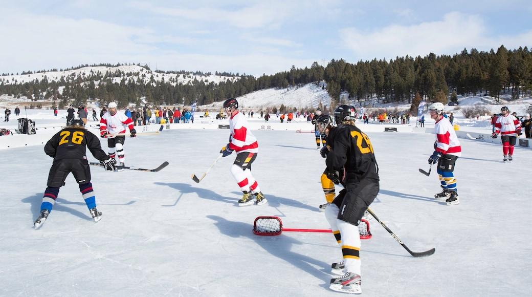 Kalispell showing ice skating
