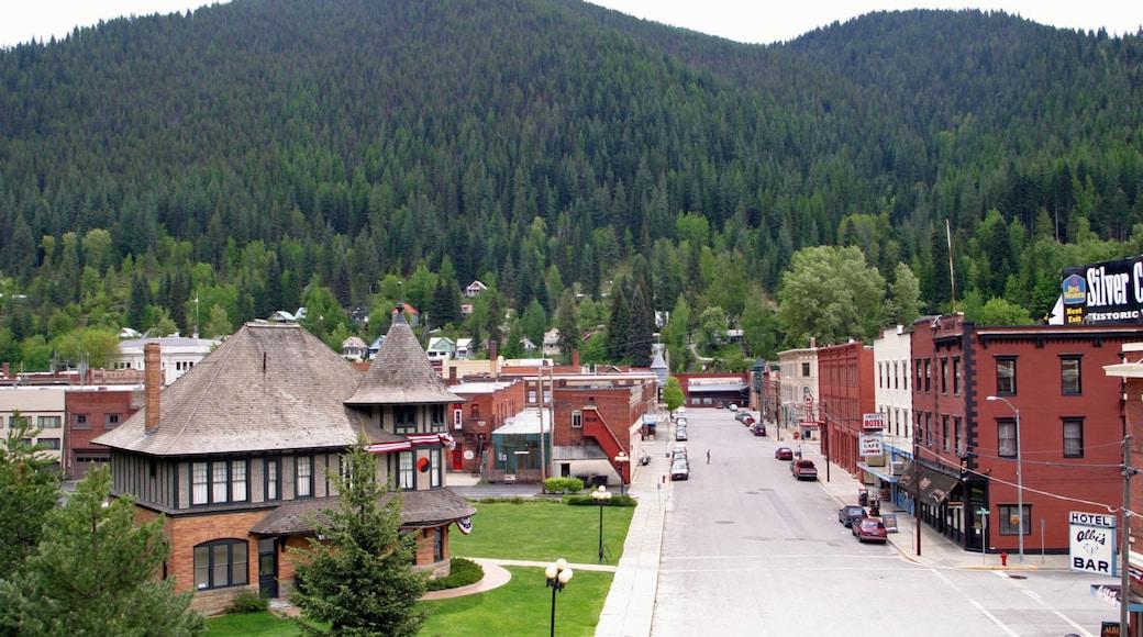 Wallace joka esittää pieni kaupunki tai kylä