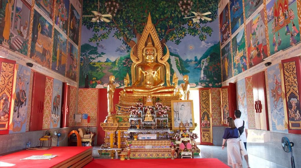 Wat Plai Laem bevat historisch erfgoed, interieur en een monument