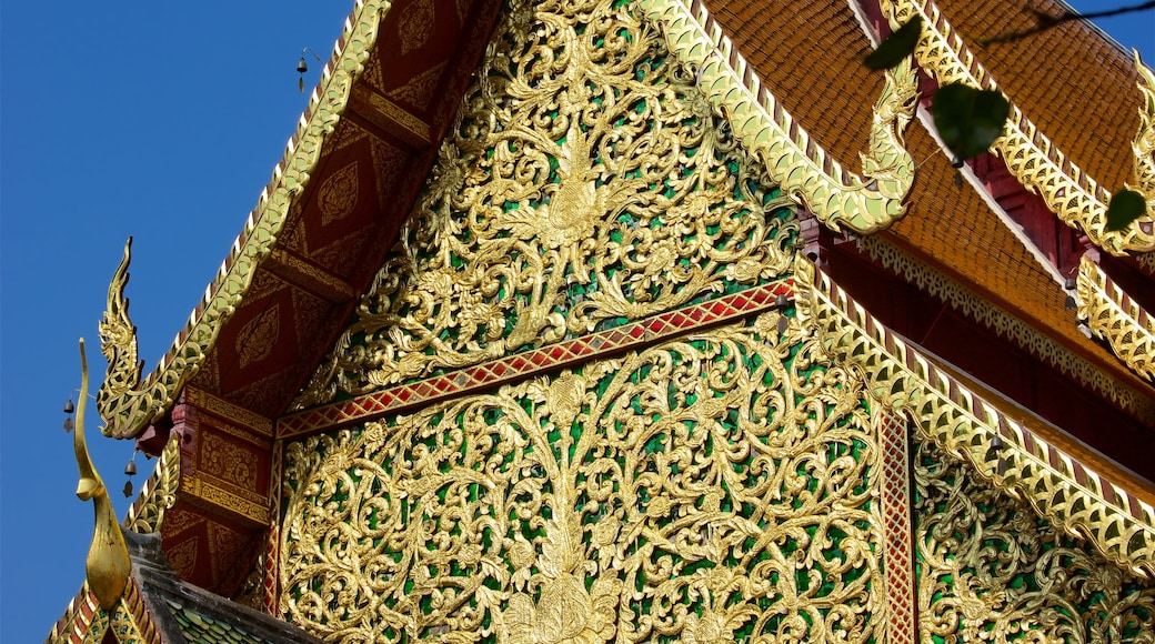 Wat Phrathat Doi Suthep which includes a temple or place of worship