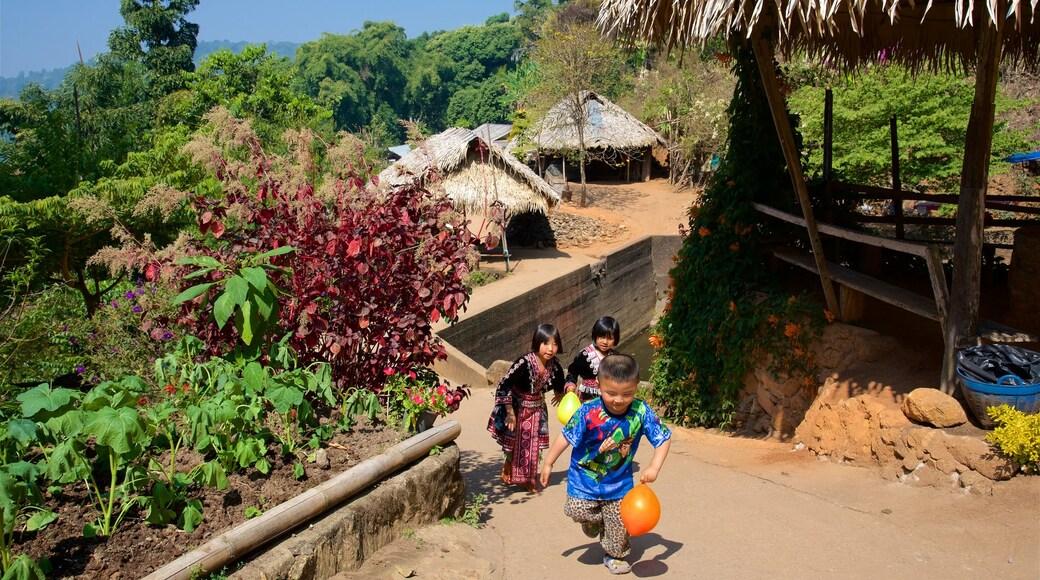 雙龍 - 貝國家公園 呈现出 花園 以及 位小童