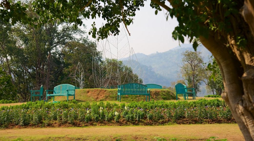 詩麗吉王后植物園 呈现出 公園