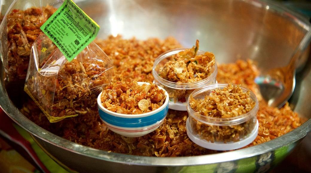 Südthailand mit einem Speisen und Märkte