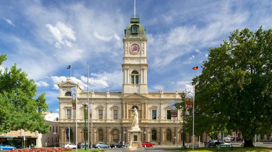 Ballarat showing heritage architecture