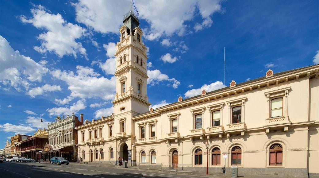Ballarat showing street scenes