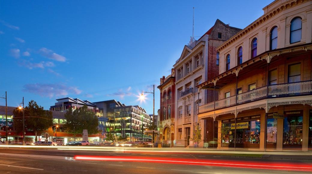 Bendigo which includes a city